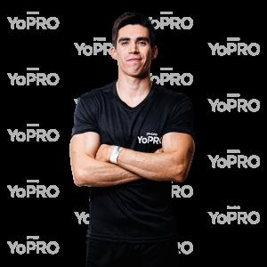 Daniel Corral, embajador de los licuados con proteína YoPRO.