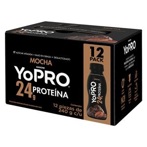 Paquete de Licuados con proteína Whey YoPRO